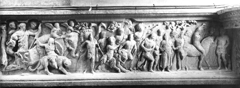 analysis of sarcophagus with the triumph This highly ornate and extremely well-preserved roman marble sarcophagus came to the metropolitan museum from the collection of the dukes of beaufort and w.
